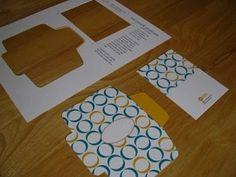 printable - mini card w/ envelope by bleu.