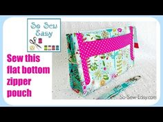 How to sew the Pockets A-Plenty Purse