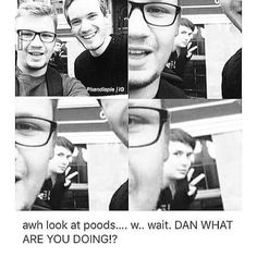 The photobomber of the univers... Daniel Howell <3