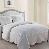 Found it at Wayfair - Providence Quilted Plush Comforter Set