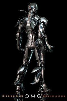 "Hot Toys: ""IRON MAN 2 - Mark II Armor Unleashed"""