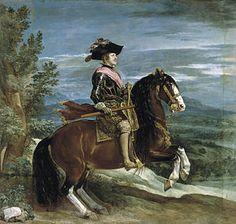 Velázquez - Felipe IV . Salón de Reinos. 1635