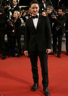 JamescMcAvoy. Festival de Cannes 2014.