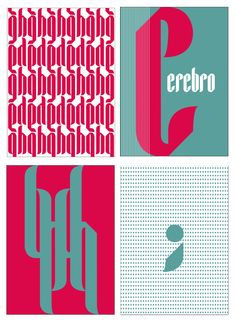 "Hyperfuente ""Scorpion"" by Giannina Osorio, via Behance"