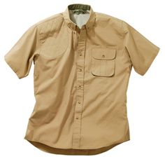 b47b2325 Good-looking short sleeved shirts of 4 oz. 100% cotton poplin are designed