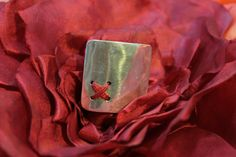 Silver ring by Flora...