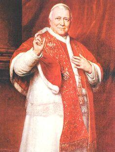 150 anni dell'Unità d'Italia - I protagonisti - Pio IX  #TuscanyAgriturismoGiratola