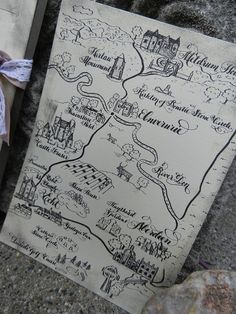 Want a custom handwritten, calligraphy and illustrated map for your wedding invitation, save-the-date, or special event? I design all sorts of