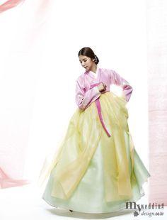 MYWEDDING 비단 빔 한복 아름다운 한복의 향연
