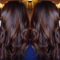 """75 mentions J'aime, 10 commentaires - Ashley Gagnon (@ashleymichelleartistry) sur Instagram : """"Dimension❤️ #balayage #hairpainting #brunette #fallhair #albany #upstateny"""""""