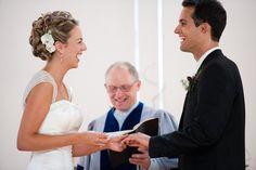 Love flowers in bridal updos.