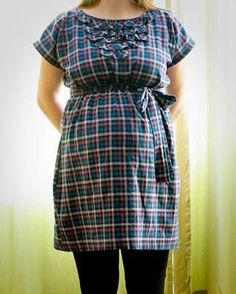 DIY Clothes Maternity Refashion: DIY  maternity or not frock