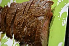 Maple and Soy Glazed Flank Steak