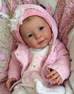 Joanna's Nursery ~ ADORABLE~ Reborn Baby GIRL~ LISA by LINDE SCHERER~ #JoannasNursery