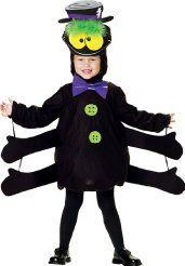 Toddler Cute Six Leg Spider My Halloween Costume Polyester Tunic Hat - Toddler Spider Costume, Toddler Costumes, Girl Costumes, Bug Costume, Costume Ideas, Great Halloween Costumes, Halloween 2017, Halloween Halloween, Halloween Decorations