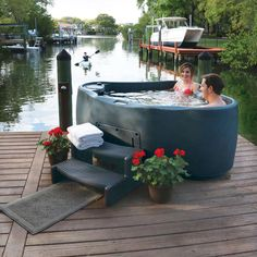 AquaRest Spas Select 300 Plug and Play Hot Tub with 20 Stainless Jets and LED Waterfall in Brownstone - - The Home Depot Home Design, Patio Design, Design Ideas, Beach Hacks, Outdoor Cover, My Pool, Outdoor Living, Outdoor Decor, Minimalist Decor