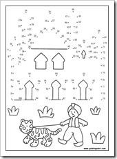 Free Dot-to-Dot Scene Puzzle Sample from The NEW Greatest