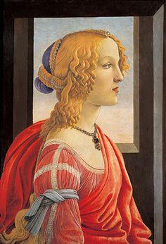 《美しきシモネッタの肖像》