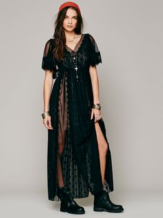 Free People Witchy Woman Maxi Dress at Free People Clothing Boutique