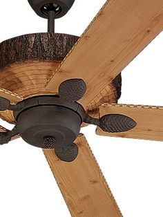"""52"""" edison rustic ceiling fan w/ industrial cage light … 