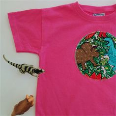 Dinosaurs - Appliqued Tshirt - Size Ready to post. Drip Dry, Bubblegum Pink, Nice Body, Gender Neutral, Dinosaurs, Fitness Fashion, Applique, Unisex, Long Sleeve