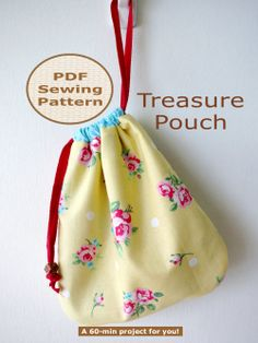 BEGINNER 60-min PDF Bag Sewing Pattern And Tutorial
