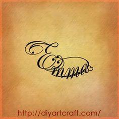 Emma tattoo
