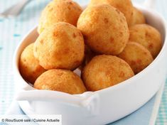 Learn how to prepare this Pommes Dauphines (Potato Puff Balls) recipe like a pro. Puff Balls Recipe, Potato Puffs, Snack Recipes, Snacks, Tasty, Yummy Food, Finger Foods, Food And Drink, Side Dishes