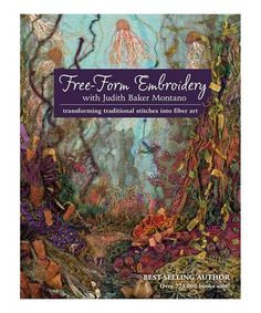 Look what I found on #zulily! Free-Form Embroidery Paperback #zulilyfinds