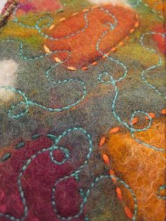 Elizabeth Armstrong - lovely stitched felt