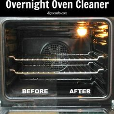 All-Natural and Effective Overnight Oven Cleaner - DIY & Crafts