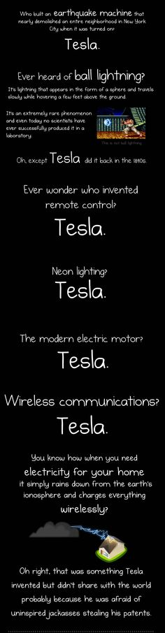 Tesla Tesla Tesla! No:6