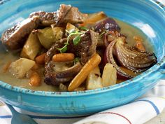 lamb stew with carrots and celery root Lamb Recipes, Cooking Recipes, Lamb Stew, Pot Roast, Celery, Carrots, Ethnic Recipes, Food, Sheep