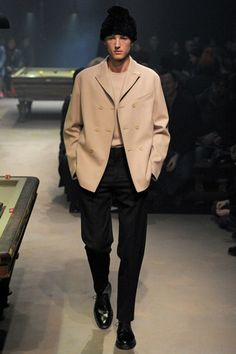 Carven Fall 2014 Menswear Collection Slideshow on Style.com