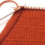 Stricktipp - Rechts zusammen Stricken und Überzug