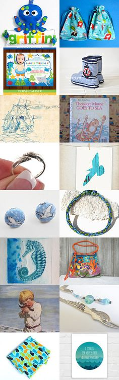 To the Sea by Natalie on Etsy--Pinned with TreasuryPin.com