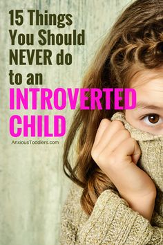 If you have an introverted child this is a must read!