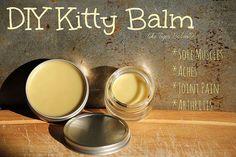 DIY 'Kitty Balm' Recipe (like Tiger Balm(R))
