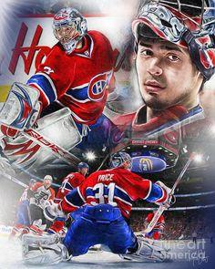 Goalie Gear, Goalie Mask, Hockey Goalie, Hockey Teams, Hockey Players, Ice Hockey, Hockey Stuff, Hockey Rules, Montreal Canadiens