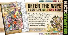 Andy Hopp is raising funds for AFTER THE WIPE: A Low Life Coloring Book on Kickstarter! Make your face all smiley with this whimsical and innovative coloring book by the creator of the Low Life RPG. Coloring Books, Coloring Pages, In Your Honor, Low Life, April 4th, Raise Funds, Line Drawing, Game Design, Smiley