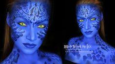 Mystique (X-Men) Makeup Tutorial