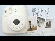 ♡Fujifilm Instax Mini Demo & Tips♡ Instax Mini 8 Camera, Fujifilm Instax Mini 7s, Fuji Instax Mini, Instax 210, Instax Tips, Instax Printer, Polaroid Cameras, Polaroids, Camera Hacks