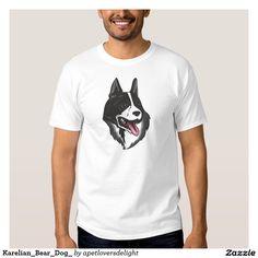 Karelian_Bear_Dog_ T-Shirt