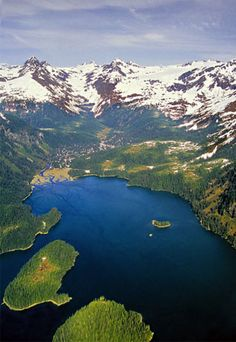 Prince William Sound, Alaska.  The most beautiful place in the world.