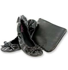 Can't survive a full night of heels? Well, who really can? Shop for the foldable flats from Fits in the Purse