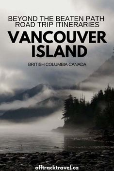 See the magnificence of Vancouver Island, Canada, without the crowds on these three road trip itineraries written by an ex-local. Cool Places To Visit, Places To Travel, Places To Go, Vancouver Island, Vancouver Seattle, Victoria, Roadtrip, Road Trip Usa, Travel Aesthetic