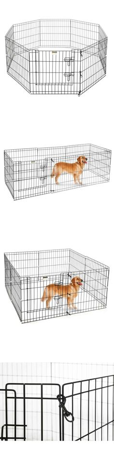 Fences And Exercise Pens 20748: Ollieroo 8 Panel Heavy Duty Pet Playpen Dog  Exercise Pen Cat Fence  U003e BUY IT NOW ONLY: $35.69 On EBay!