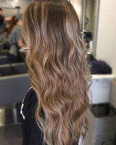 Sandy Blonde Balayage  my sweet friend is ready for her beach vacay!