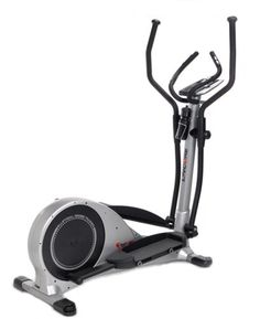 $1,199.00 Enjoy a total body workout with Lifecore's LC985VG Elliptical trainer. With 12 preset programs you can vary your workout to fit your specific needs. The 4 User ID profiles and 4 heart rate control programs makes the 985VG perfect for families with different user types. Dual action arm handles provide great upper body workout. User weight capacity is 300 lbs.