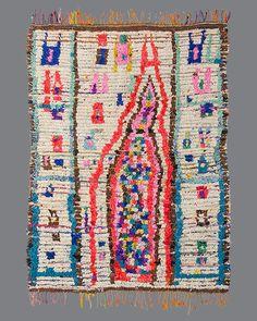 vintage Moroccan Ourika rug, #OR14
